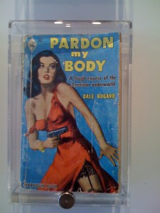 vintage harlequin pardon my body